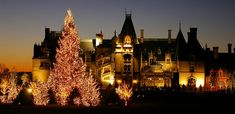 Biltmore House at Christmas :)
