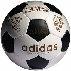Adidas World Cup Ball. Mexico 1970 - Telstar. Their first and my best ( a21f17c839c12