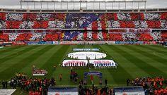 Vicente Calderon Atletico de Madrid vs Real Madrid 2014