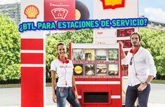 OMG!!! Activación BTL para una estación de servicio. Así dan ganas de ir a cargar combustible. IM-PER-DI-BLE  #BTL #Publicidad #Marketing