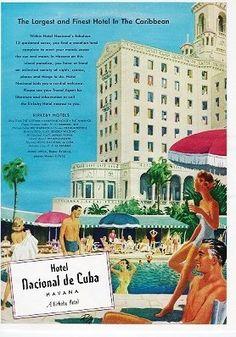 National de Cuba 1953 ad
