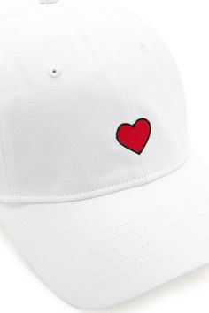 more photos 7d6a5 608f7 Embroidered Heart Dad Cap