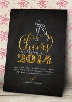 2014 printable new years eve invitation eccodomanicelebration new years eve menu new years party