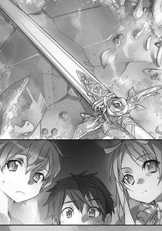 Original character design by abec for the Sword Art Online Light Novel Volume 1 Kirito's beta...