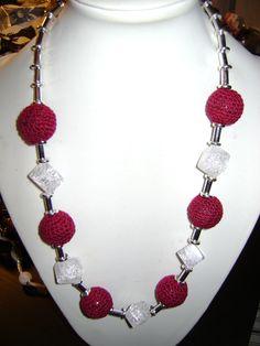 rosita dunkl Crochet Necklace, Jewelry, Fashion, Jewlery, Moda, Crochet Collar, Jewels, La Mode, Jewerly
