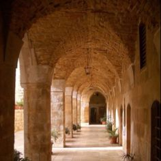 Lebanon - yes I have walked in this entryway of a church, and it was more magical in person.