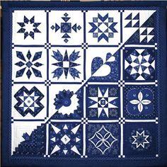 DELPH BLUE QUILT..........................PC