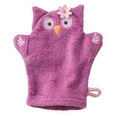 Jumping Beans Olivia The Owl Wash Mitt