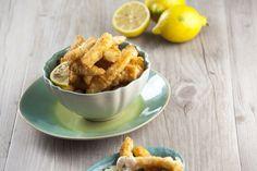 Choco frito com limão, é fácil e rápido de preparar. Hora de saborear ;)
