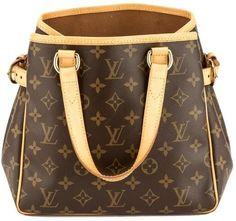 4ead156ed998 Louis Vuitton Monogram Canvas Batignolles Vertical Bag Used Louis Vuitton