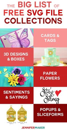 SVG Free Files List -- Where to Find the Best Free SVG Cut Files Online Svg Files For Scan And Cut, Free Svg Cut Files, Brother Scan And Cut, Cricut Cards, Svg Files For Cricut, Cricut Vinyl, Brother Plotter, Scan N Cut Projects, Vinyl Projects