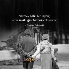 Sevmek belki bir şeydir; ama sevildiğini bilmek çok şeydir. - Charles Bukowski (Kaynak: Instagram - askbaz) #sözler #anlamlısözler #güzelsözler #manalısözler #özlüsözler #alıntı #alıntılar #alıntıdır #alıntısözler #şiir #edebiyat