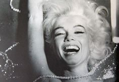 """Limited Edition Print """"Pearls Laughing Marilyn Monroe"""" by Bert Stern"""