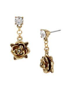 Jewellery & Accessories | Earrings | Rose Drop Earrings | Hudson's Bay