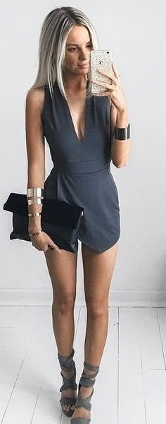 #summer #fashion #outfits | Perfectly Wrapped Romper