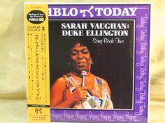 CD/Japan- SARAH VAUGHAN : Duke Ellington Song Book Two w/OBI RARE MINI-LP #BigBandSwing