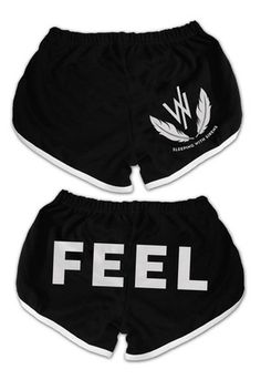 Sleeping With Sirens | Feather Track Shorts