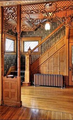 Once in a rare while an opportunity such as this stunning home comes your way. Built by skilled craftsmen in the mid-1800's, features a grand entry, original maple, mahogany, and restored hand-crafted oak, original fireplace, many lead and curved glass windows, custom window treatments, marble features in baths. 1st flr bdrm with full bath. So much more! Updated with today's amenities. Perfection throughout!