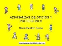 ADIVINANZAS DE OFICIOS Y PROFESIONES by SALAAMARILLA via authorSTREAM