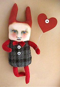Rabbit boy art doll | Flickr - Photo Sharing!