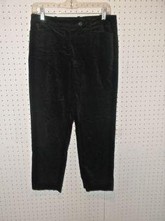 TALBOTS Petites Size 6P Black Pants Inseam 25'' #Talbots #CasualPants