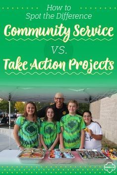 How to Spot the Difference: Community Service Projects vs. Take Action Projects Girl Scout Swap, Girl Scout Leader, Daisy Girl Scouts, Girl Scout Troop, Scout Mom, Cub Scouts, Junior Girl Scout Badges, Girl Scout Juniors, Brownie Girl Scouts