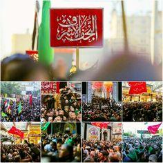 [ AlNajaf AlAshraf Procession Mourn The 40th Day Of Imam Hussain's Martyrdom In Karbala ]  #20Safar1437 #ArbaeenDay #LabbayakYaHussein