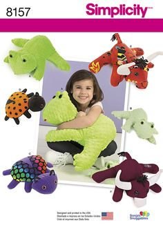 Image result for stuffed animal patterns simplicity