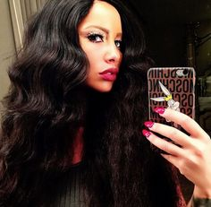 XXL Mobile - Amber Rose Looks Hot With Long Hair