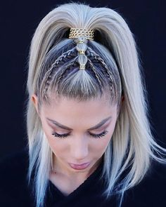 ponytails hairstyle long, ponytail hairstyle easy, Medium hairstyle, ponytail for medium length hair Medium Hair Styles, Natural Hair Styles, Long Hair Styles, Ponytail Hairstyles, Hair Ponytail, Braided Ponytail, School Hairstyles, Updo Hairstyle, Everyday Hairstyles
