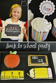 CUTE Back To School Party Ideas! Pizzazzerie.com