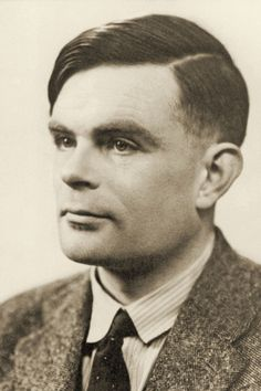 """Men I admire: Alan Turing, mathematical genius, Code breaker the """"Enigma Code"""" and world's first computer scientist. Persecuted for being gay and committed suicide in Alan Turing, World's First Computer, Computer Science, Computer Technology, Enigma Machine, Computer History Museum, Bletchley Park, Jean Paul Sartre, My Tumblr"""