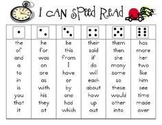 Students roll the dice then read short word list with speed & accuracy - uses 150 High Frequency Words for fluency practice #Christmas #thanksgiving #Holiday #quote