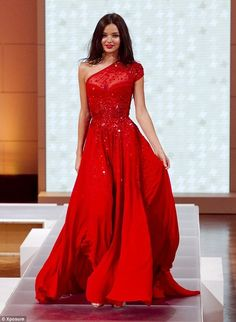 dress red prom dress long dress gown one shoulder off shoulder embellished sparkly