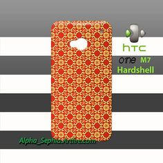 Decoration Pattern HTC One M7 Case Cover Hardshell