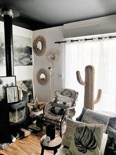 Ma maison , mon cactus en osier #cactus #decocactus #cactusosier #blogger