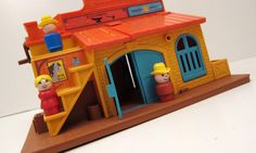 RESERVED FOR MARIAN  Vintage Fisher price Western by ThePantages, $42.00