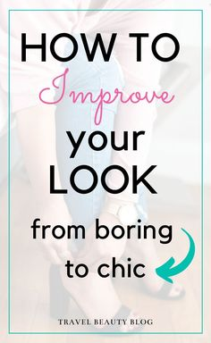 How dress professional and improve your look from boring to chic. Learn how to take your work attire from basic to fabulous. More tips on dressing professionally at the office, over on the blog. #improveyourlook #chic #lookprofessional #howtodress #workclothes #chicstyle Fresh Outfits, Trendy Outfits, Grunge, Indie, Corporate Style, Fashion Advice, Fashion Bloggers, Holiday Fashion, Women's Fashion