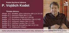 Postní duchovní obnova s P. Vojtěchem Kodetem
