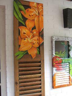 janela lírios by argina seixas, via Flickr