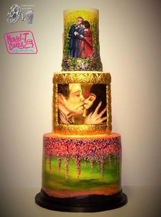 Loooooove is in the air!! Be my Valentine's movie collaboration - Cake by Novel-T Cakes