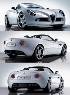 I'd love to try this Spider, oh say, maybe in the mountains?  Never have seen one.   Alfa Romeo 8C Spider