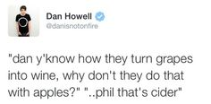 Phil and Dan's amazing conversations. Dan Howell, Daniel James Howell, Phil Lester, Dan And Phill, Phil 3, Danisnotonfire And Amazingphil, Tyler Oakley, Markiplier, I Cant Even