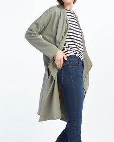 Image 3 of POINTED JACKET from Zara