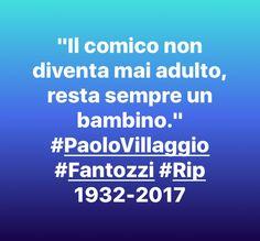 #PaoloVillaggio #Fantozzi #Rip | VincenzoKenzoAndolfi 