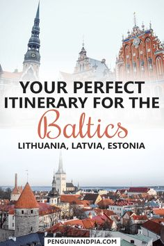 The Baltic States (Lithuania, Latvia and Estonia) are often an overlooked gem in the eastern part of Europe. There are so many places worth visiting that we have created your ultimate Baltic itinerary with lots of travel tips for you to discover this unknown region! #baltics #estona #latvia #luthuania #balticstravel #roadtrip #travelitinerary #europetravel #traveltips