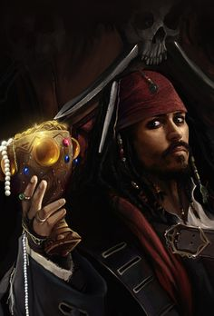"""*CAPTAIN JACK SPARROW ~ Pirates of the Caribbean.....""""Welcome to the Caribbean, love."""""""