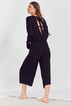 Out From Under Audrey Wrap Jumpsuit