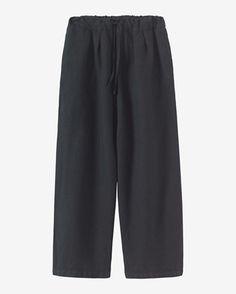 Women's Cotton/Linen Twill Trouser