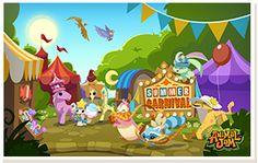 Animal Jam Summer Carnival Desktop